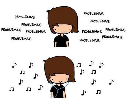 'Lo que importa es que la musica suene mas fuerte que los problemas.' #graphicdescription http://t.co/XnQYmrSh