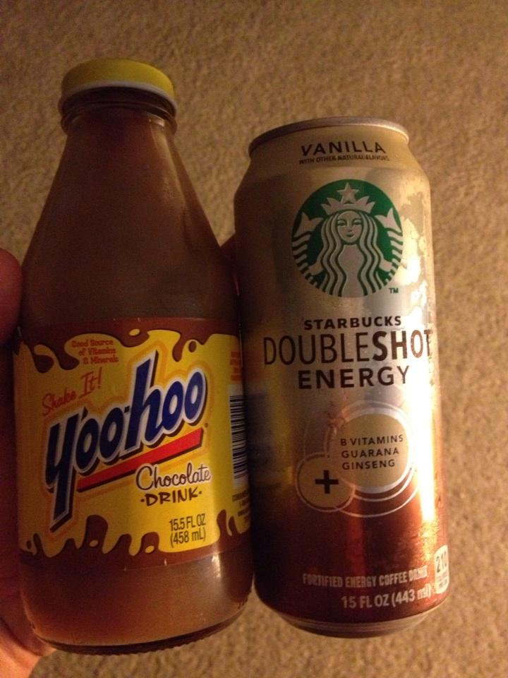 Gonna mix these two together and see what happens.  Im Being a homebody tonight. http://t.co/AOJNRRPB