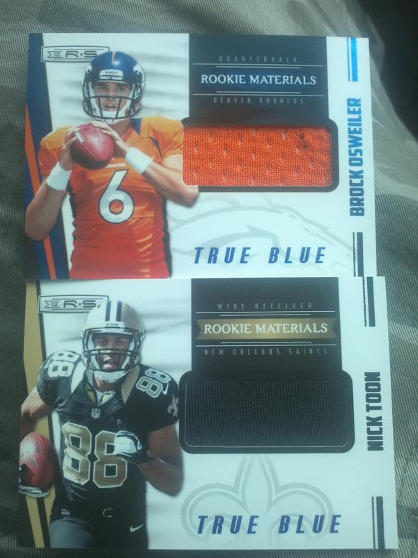 Trevor Colbert (@TrevBC9): @PaniniAmerica Couple Cool Hits From Today http://t.co/PaxVmPGC