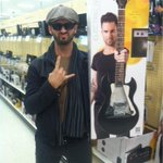 Bought a new guitar. At TARGET of all places! #ThePowerOfPersuasion #TeamAdam (c.c. @NBCTheVoice) http://t.co/f9MekXWf