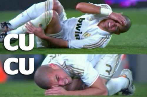 Pepe: 'Iniesta me busca por completo y se tira. Ya sabemos todos como son los jugadores del Barça. Son unos teatreros'. http://t.co/vbeCnotM