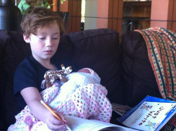 Natalie Hanson (@natonthewall): Homeschool at its best.. http://t.co/L7SZch2D