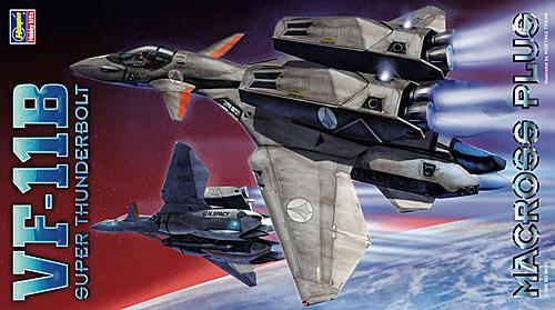 Hasegawa VF-11B Super Thunderbolt box art como siempre por Tenjin. Fecha de salida noviembre 2011. http://t.co/7hDCvPv0