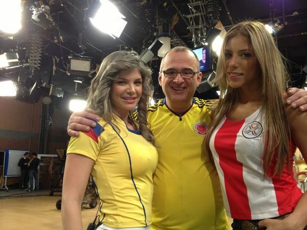 Muy Buenos Días RCN (@MBDRCN): Hoy Colombia vs Paraguay en MBD http://t.co/aR1txfal