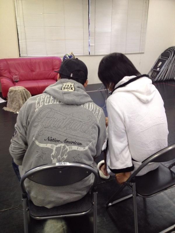 本日は浪川さんの撮影が行われました!この映像の内容が知りたい方はぜひ観に来てください!今回も皆さんの期待を裏切りませんッ!! http://t.co/E00vgQdM