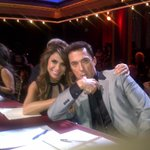 RT @TerriSeymour: Didn't you love @PaulaAbdul on @DancingABC last night? Here she is working the camera with Bruno! :) http://t.co/hEylnZ0s