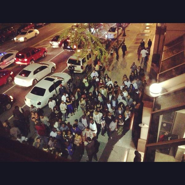You thought lastnight was crazy? @Drake has #ParkFridays Live outside http://t.co/P2Tykjkk