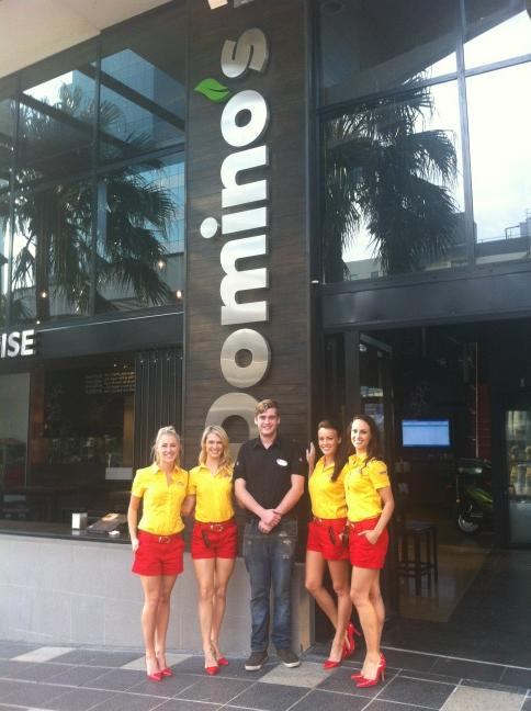 Spreading THE GOOD LIFE @ Domino's Surfers Paradise!!#xxxxangels http://t.co/lbbfqzVh
