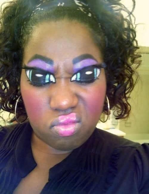 Bitches be like 'I'm a make-up artist' http://t.co/NN6Kpvzx