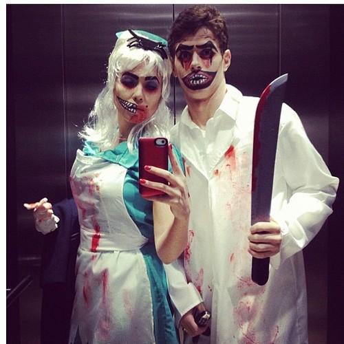 '@Oscar_ID: Ludmila Emboaba :D RT '@Soal_Chelsea: Oscar dan istrinya merayakan Halloween :)) #RandomPict http://t.co/tarSHMou''