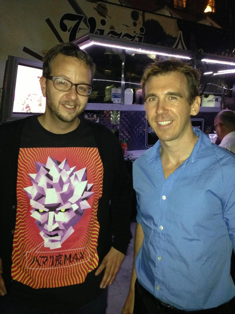 Seth Killian with Polygon Man in PlayStation All-Stars Battle Royale on Paul Gale Network