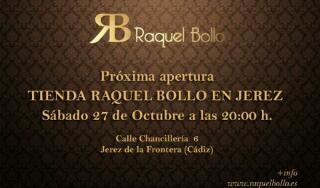 La nueva tienda de @RaquelBollo en Jerez esta en la C/ Chancilleria 6 su apertura es el sabado dia 28/10  RT bs :) http://t.co/w1LSStUp