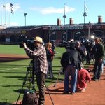 RT @JohnKeatingFSD: Media is Everywhere for World Series.  TV row.  TigersLive before gm 2 @7 on FSD. http://t.co/IWTve9gl