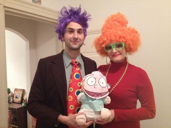 19. The Pickles from Rugrats.  sc 1 st  BuzzFeed & 50 Couple Costume Ideas To Steal This Halloween