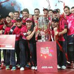 Start of the big @clt20 party for @sixersbbl