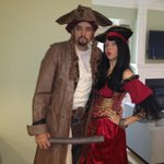 Me and the missus ready to pillage tonight.