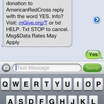Awesome keep donating! #redcross RT @sflamini: @VINNYGUADAGNINO http://t.co/oFnvYyuP