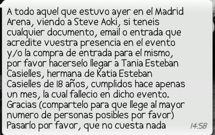 Mar Montoro (@Mar_Montoro): Xfavor,colaborar todos...es x nuestro bien,el de nuestros hermanos,hijos,amigos... @LaMarDeNoches40 @Los40_Spain http://t.co/A7Fdc1fr
