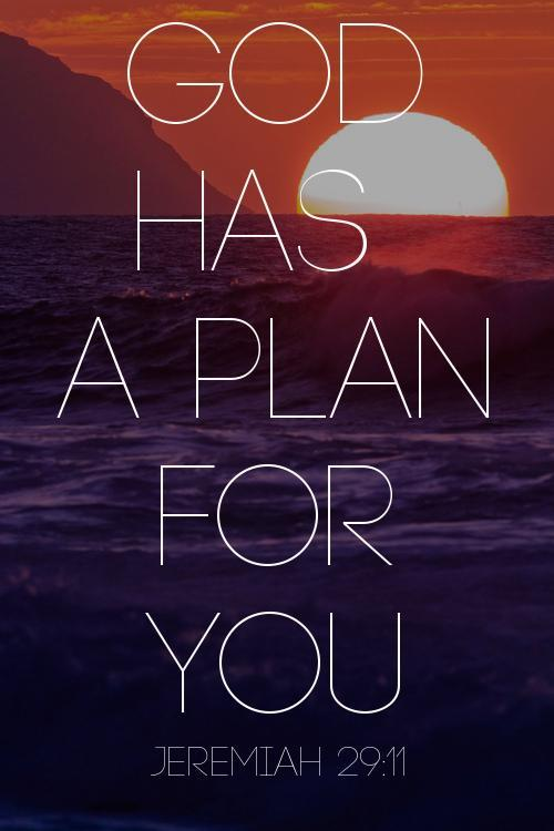 "For I know the plans I have for you,"" declares the Lord, ""plans to prosper you and not to harm you, plans to give... http://t.co/T424SdNI"