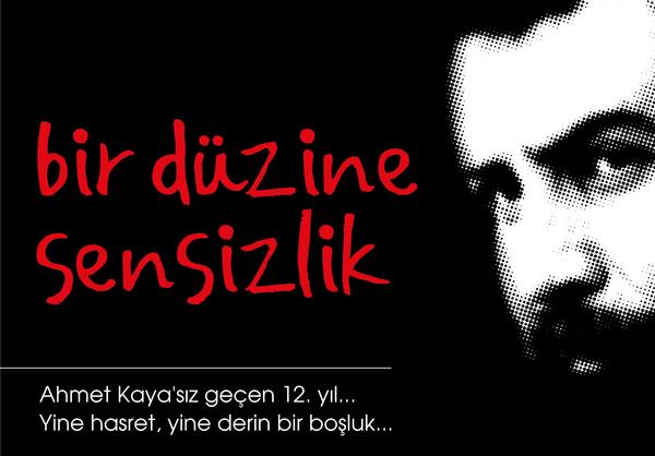 Ahmet Kaya (@AhmetKayaGam): .#BirDüzineSensizlik http://t.co/orxq2pOS