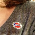 I voted and hope you made it a priority to do the same. What a privilege to participate in this process! #Obama2012