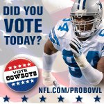 RT @dallascowboys: VOTE! For your favorite Cowboys for the Pro Bowl! http://t.co/3wPg8xg9