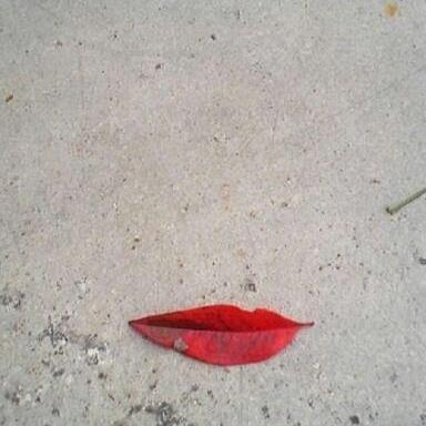 Leaf Lips :) http://t.co/5mA0zeks