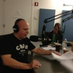Matt Pinfield interviewing Soundgarden in NYC. We love Matt!