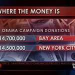 RT @GranholmTWR: Are you surprised? The Bay Area donated more to the Obama Campaign than New York City. http://t.co/TtMJw7F8