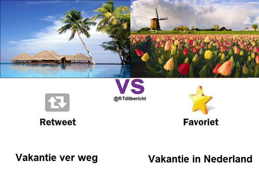 vakantie ver weg VS vakantie in nederland http://t.co/WrO4bmJw