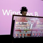 The @Windows 8 DJ Booth at the #Windows8 launch party in France. More photos here: http://t.co/OnCXCy3v