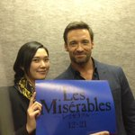 And thanks to my #Wolverine co-star Tao for coming out to the presentation too!!!