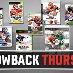 RT @EANCAAFootball: REWEET if you played any of these games! #ThrowbackThursday