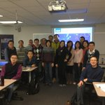 Our new Chinese friends from CFFEX visiting The Options Institute! http://t.co/nYelfesr