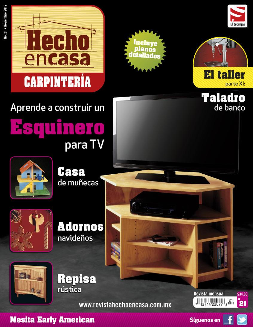 Ya está a la venta tu revista Hecho en Casa Carpintería  21.Búscala en puestos de revistas o tiendas de autoservicio http://t.co/cigFaIZx