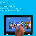 Use semantic zoom in #Windows8 to quickly scroll through all your apps! http://t.co/s8xUpnHD