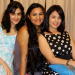 RT @Rajnigandha: My belated birthday celebrations with the gals @anjanasukhani  & @adah_sharma  ...surprise!