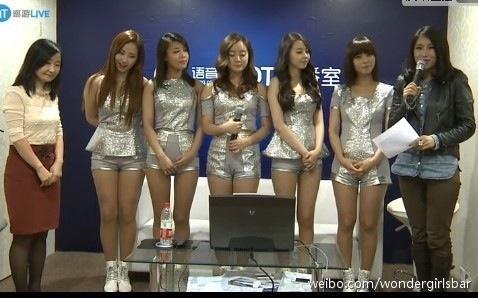 RT @YeEun_Impact: Wonder Girls having an interview [Cr. wondergirlsbar] http://t.co/hQelDfnV