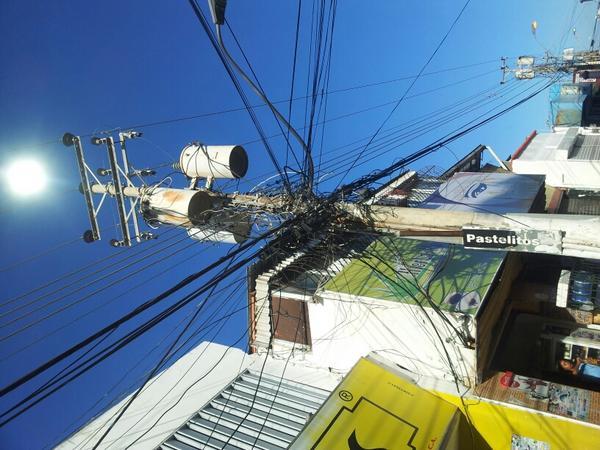 Eficiencia electrica. Calle Igualdad en Porlamar Isla de Margarita. http://t.co/5lkthPvw