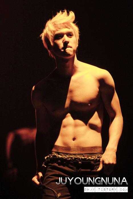 Dongwoon Shirtless Indah Hapsari M
