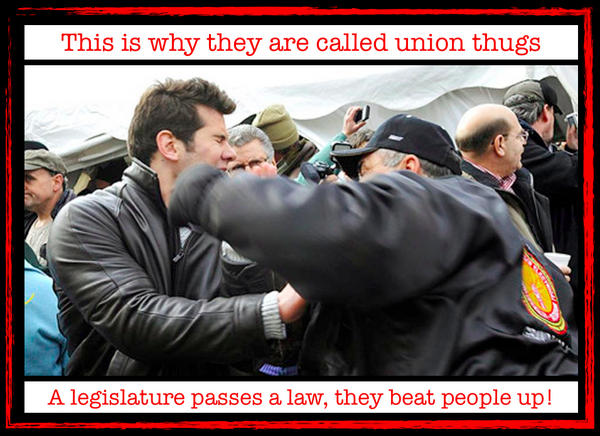 So ... #MIUnion, this is what democracy looks like? #RightToWork http://t.co/kglWQqyW