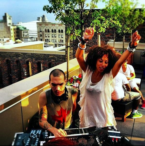 Best of 2012 DJing with @la_moda @GansevoortPark #mannequin @yancarloscolon http://t.co/TQ7aJcCR