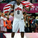 CONGRATS to 2x #Olympic champ @KingJames on being named 2012 Sportsman of the Year by @SInow! Fave moment? #London2012