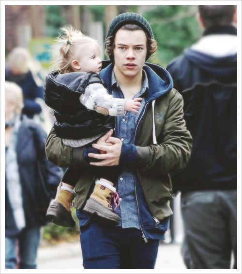 Baby Lux and Harry Styles