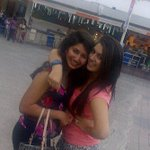 With my bestieeee @tash_tanvi .♥