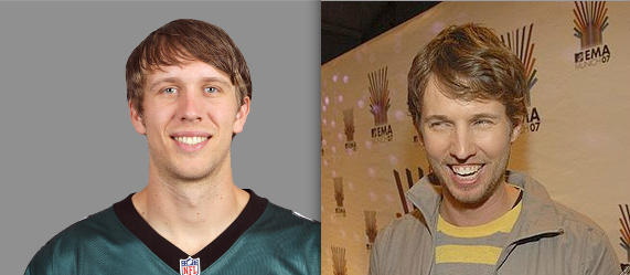 BeerandBall : RT @Dexters_Library: Check out the ... Nick Foles Jon Heder