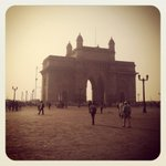 Wintery Bombay morning made even more wintery thanks to Instagram tints & the bastardization of anything real.