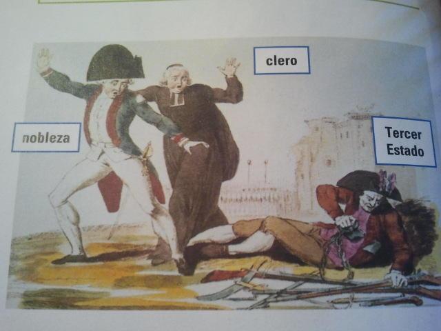 Grabado titulado El despertar del Tercer Estado, 1789 (Revolución Francesa) http://t.co/AUTjOc2c