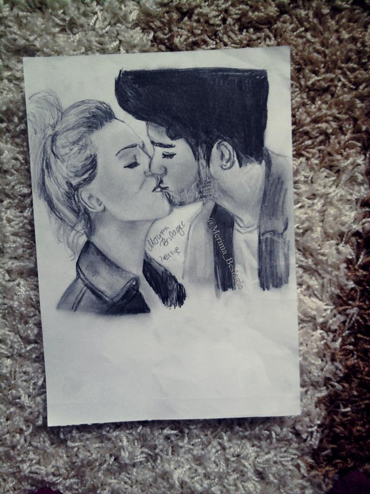 Zayn Malik And Perrie Edwards Drawing Drawing of Perrie Edwards