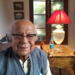 For rest of our lives v will cherish golden moments spent with Haradhanda!At 87 He was younger than me at heart.